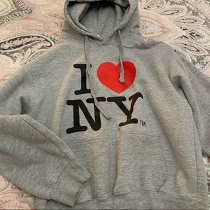 I love ny hoodie size small. Barely worn
